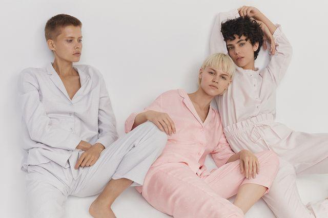 Oysho Day and Night - Przeurocze piżamy i wygodne casualowe ubrania na zimę 2017