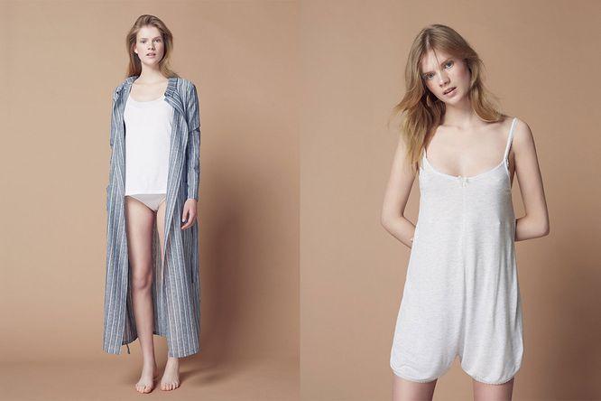 Nowa kolekcja Oysho - Piżamy i bielizna w Natural Vibes
