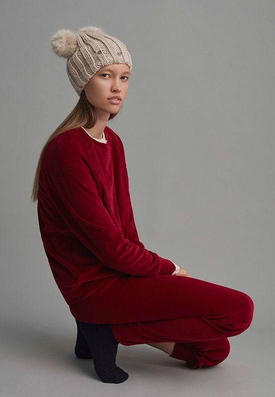 Oysho Winter Editorial - Bardzo młodzieżowe piżamki na zimę 2016 (FOTO)