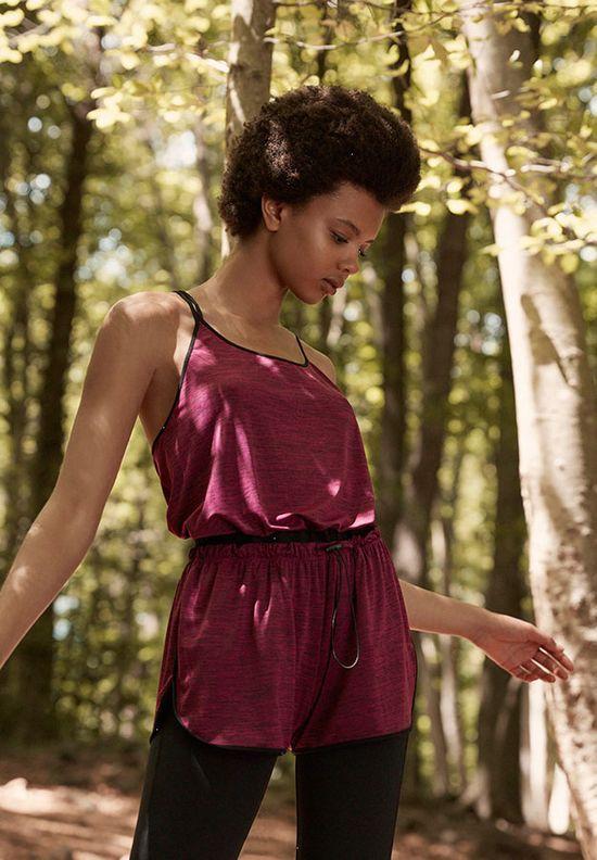 Oysho Natural Inspired - Sportowa kolekcja na jesień 2016 inspirowana naturą