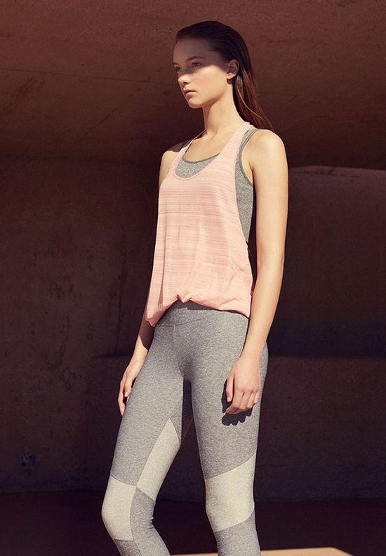 Oysho Gymwear Warrior - Kobieca kolekcja sportowa na jogę