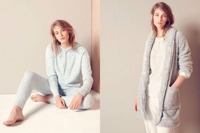 Oysho Autumn Sleep - Ciepłe klasyczne piżamy na jesień