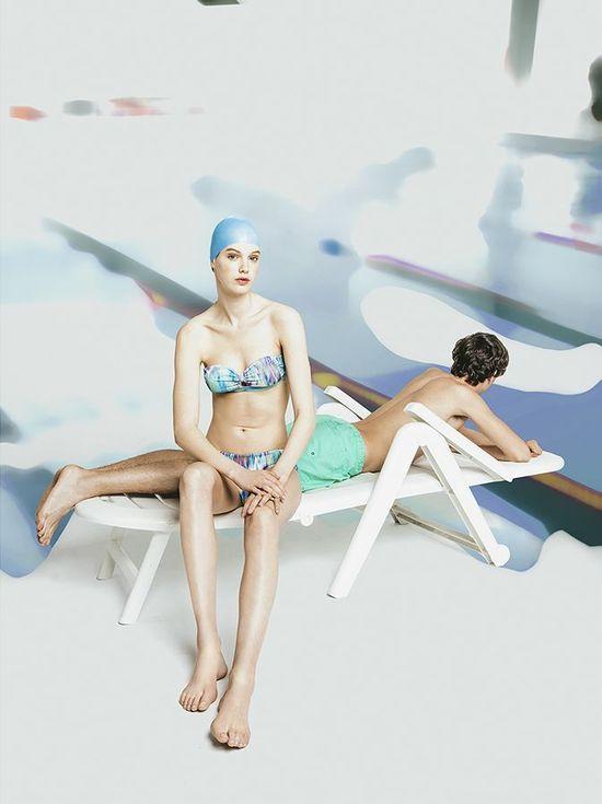 Oysho by Ernesto Artillo - Kolorowa plażowa kolekcja na lato 2016