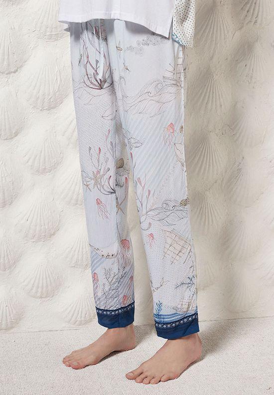 Oysho Blue Navy - Marynarski styl w bieliźnianej kolekcji