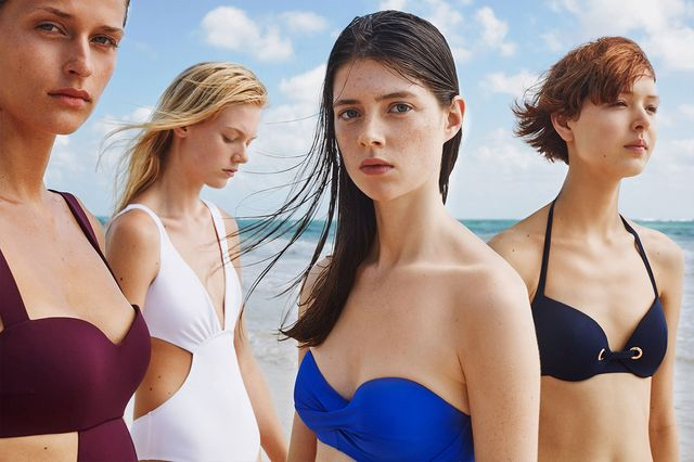 Oysho Into the Color - Kolorowe stroje kąpielowe na lato 2017