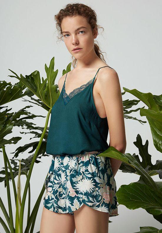 Oysho Green Blossom -