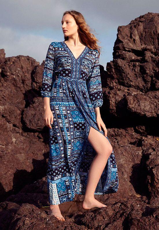 Oysho Into The Blue - Stroje kąpielowe i moda plażowa na lato 2016