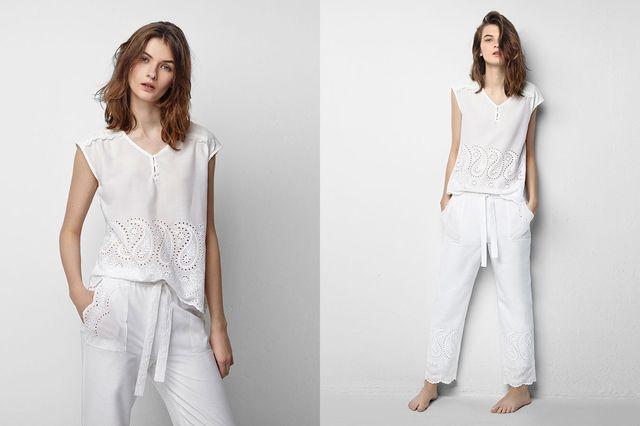 Oysho White Mood - Białe piżamy w roli głównej (FOTO)