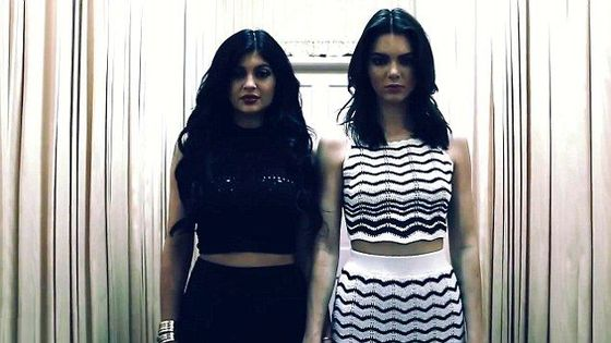 Kendall i Kylie Jenner dla PacSun (VIDEO)