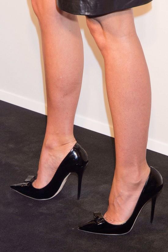 Gwyneth Paltrow w skórzanej sukience