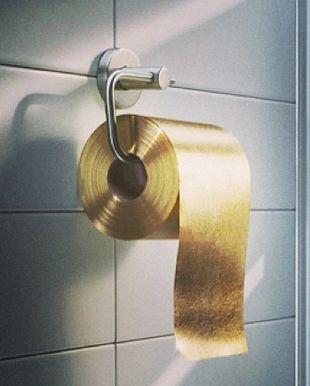 najdroższy papier toaletowy