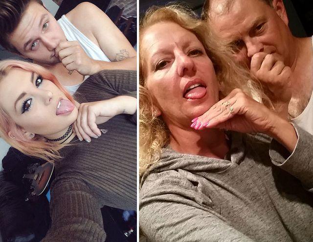 Rodzice trollują córkę i jej chłopaka (FOTO)