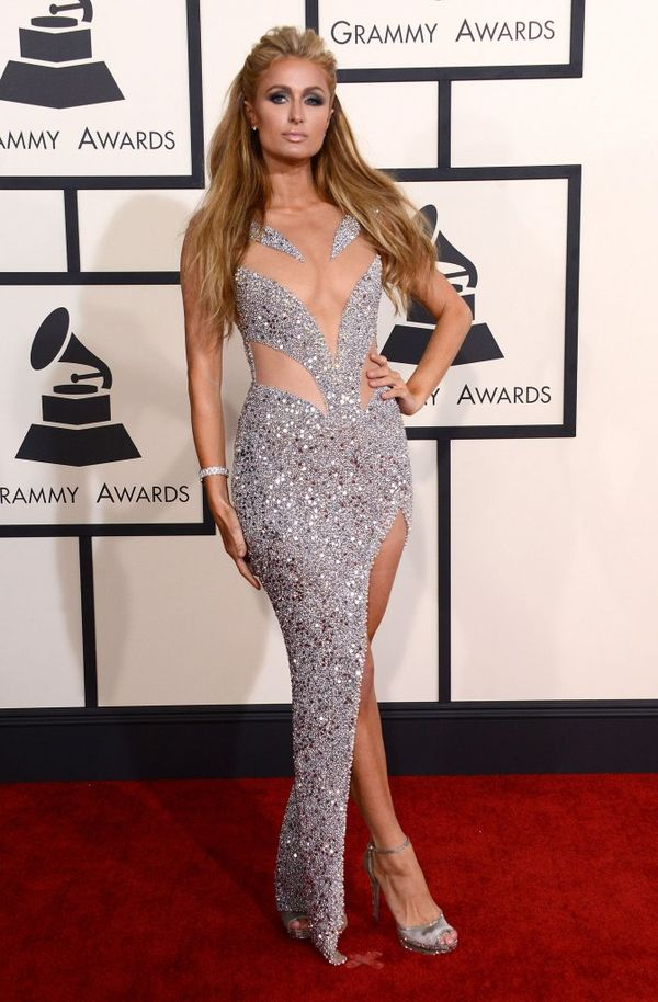 Srebrne kreacje na gali rozdania nagród Grammy 2015 (FOTO)