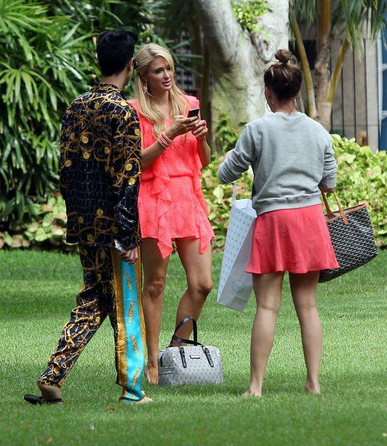 Hawajska sesja Paris Hilton