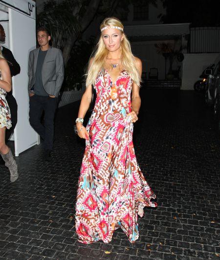 Paris Hilton w stylu hippie (FOTO)
