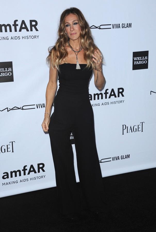 Sarah Jessica Parker w kombinezonie Chanel