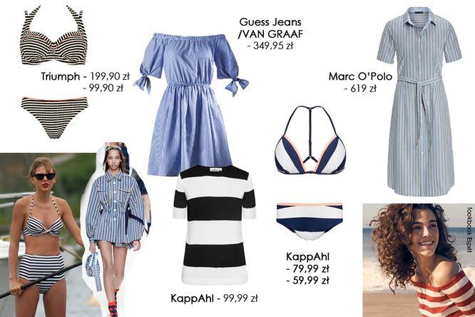 b12d5b190b Modne na wiosnę 2017 - Ubrania w paski w kilku stylach (FOTO ...
