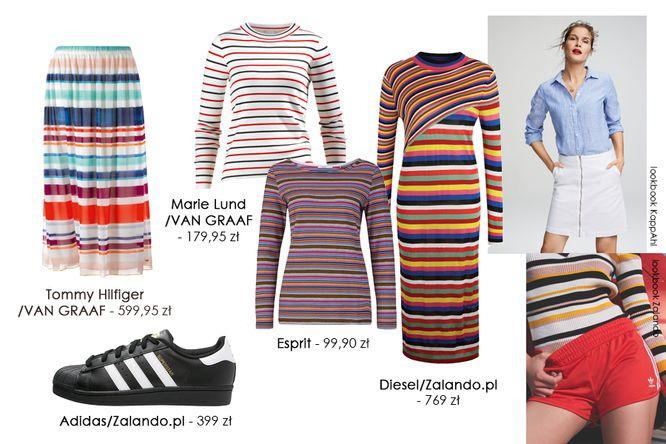 Modne na wiosnę 2017 - Ubrania w paski w kilku stylach (FOTO)