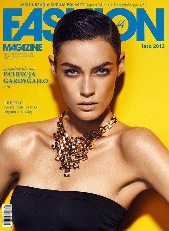 Patrycja Gardygajło dla Fashion Magazine