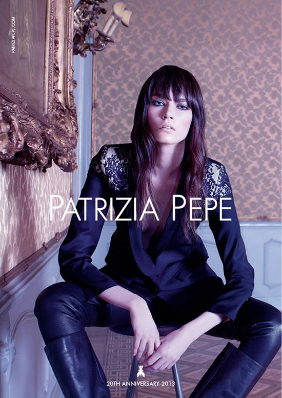 Patrycja Gardygajlo w kampanii Patrizia Pepe jesień 2013