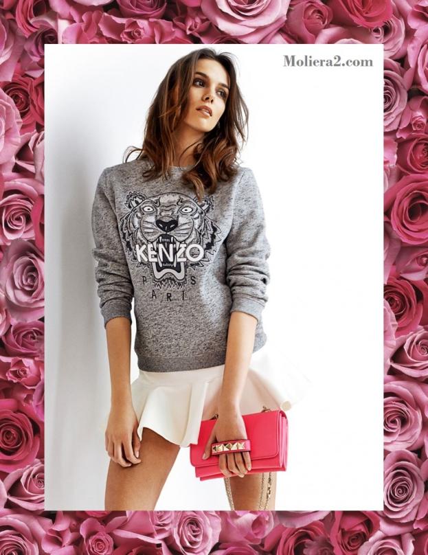 Paulina Krupińska reklamuje butik Moliera 2 (FOTO)