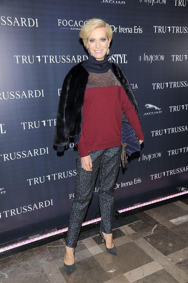 Gwiazdy i celebrytki na prezentacji nowej kolekcji Trussardi