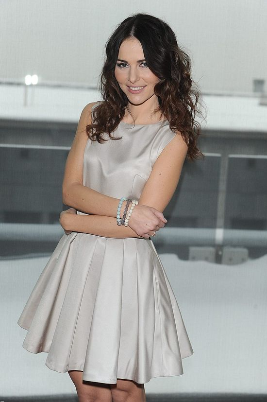 Paulina Sykut w dziewczęcej sukience (FOTO)