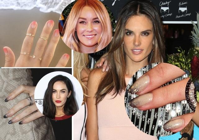 Pomysł na modne paznokcie - OMBRE