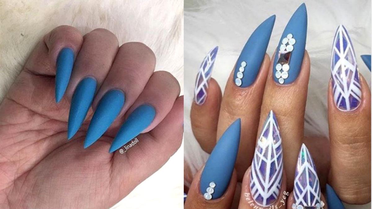 Czy paznokcie wyglądające jak szpilki będą hitem Instagrama?