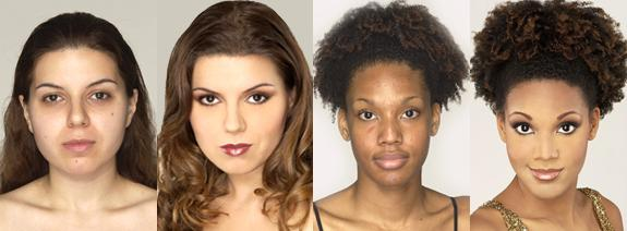Makijaż według Eve Pearl
