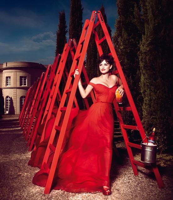 Penelope Cruz dla Campari