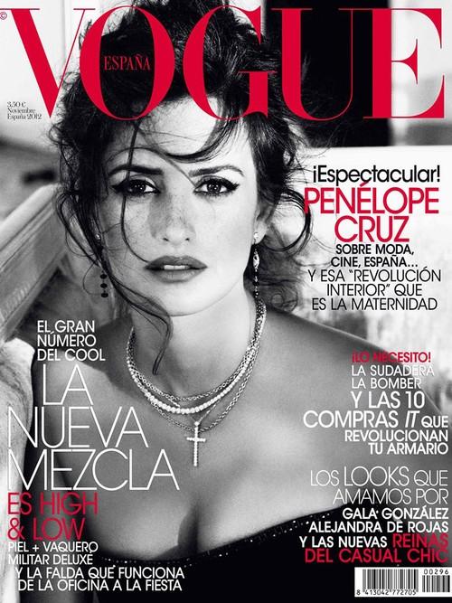 Penelope Cruz w Vogue Spain