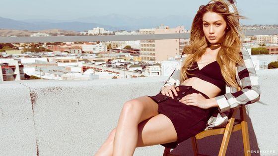 To dopiero duet! Gigi Hadid i Kendall Jenner w kampanii Penshoppe