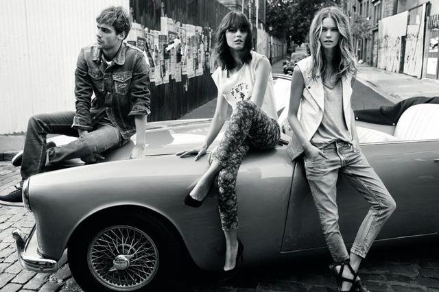 Behati Prinsloo gwiazdą wiosennej kampanii Pepe Jeans (FOTO)