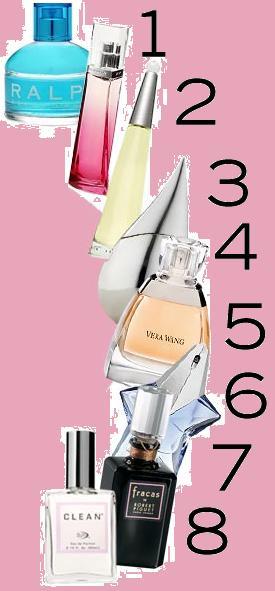 Osiem zapachów dla kobiet