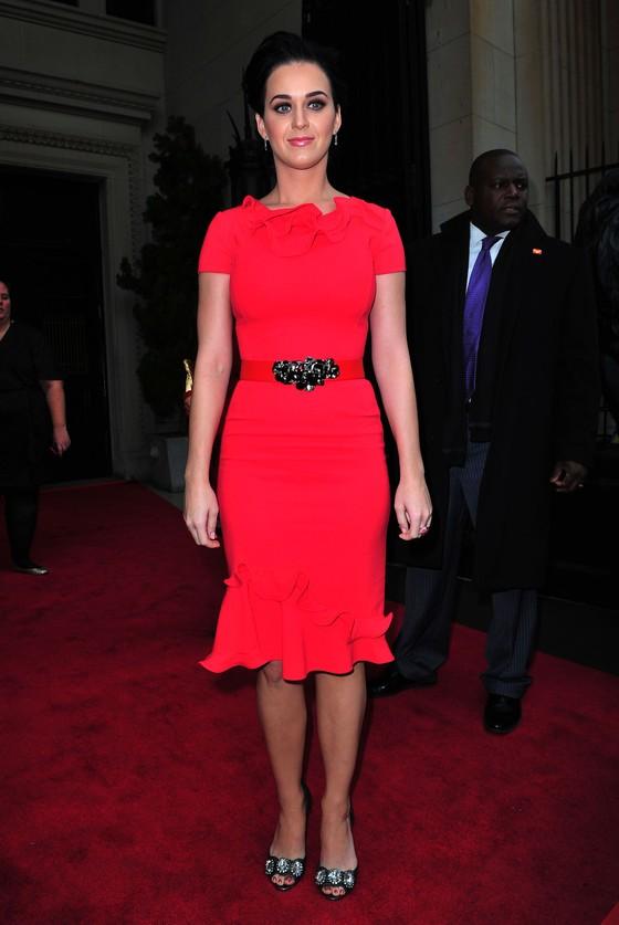 Katy Perry na czerwonym dywanie
