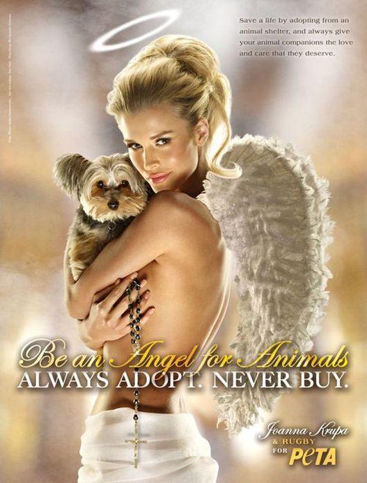 Joanna Krupa ponownie dla PETA (FOTO)