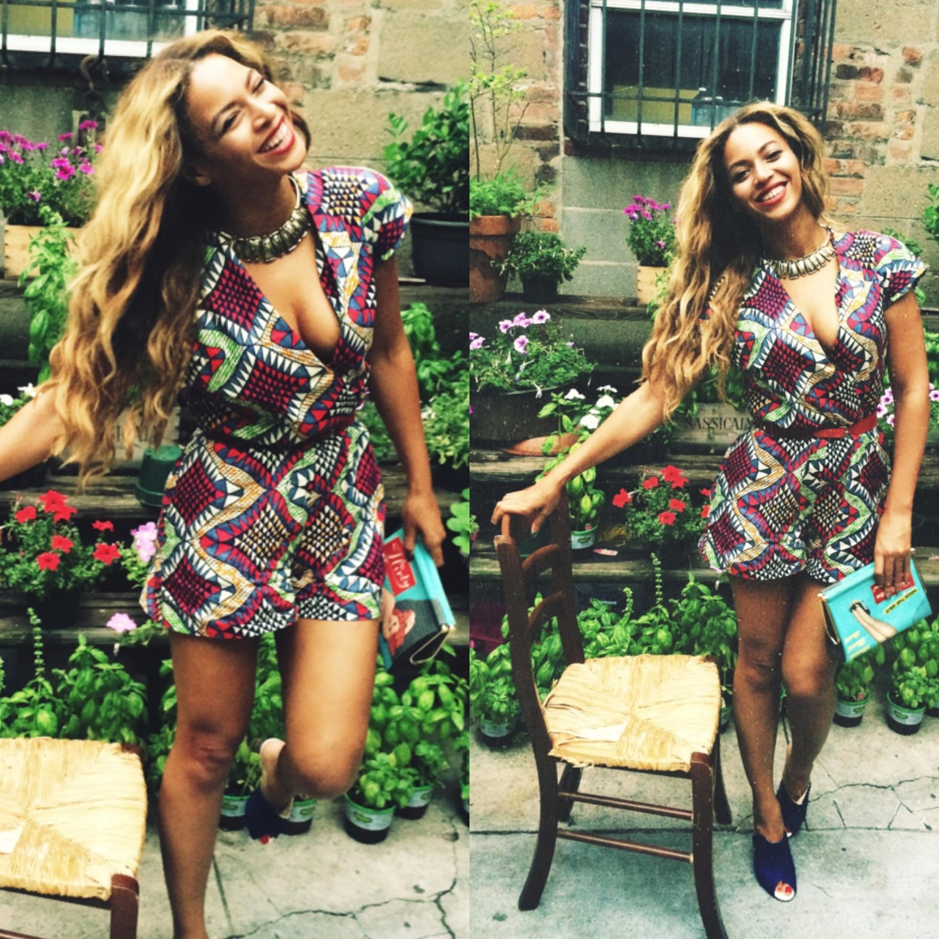 Kolejna świetna stylizacja Beyonce! (FOTO)