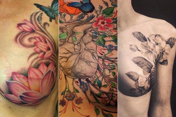 Tatuaż Pod Piersią Zeberka