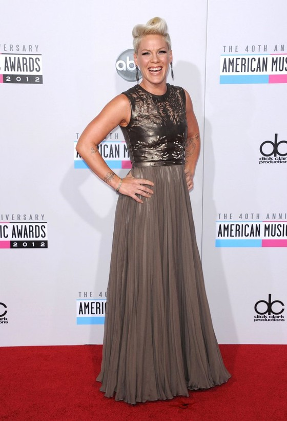 Gwiazdy na gali American Music Awards 2012