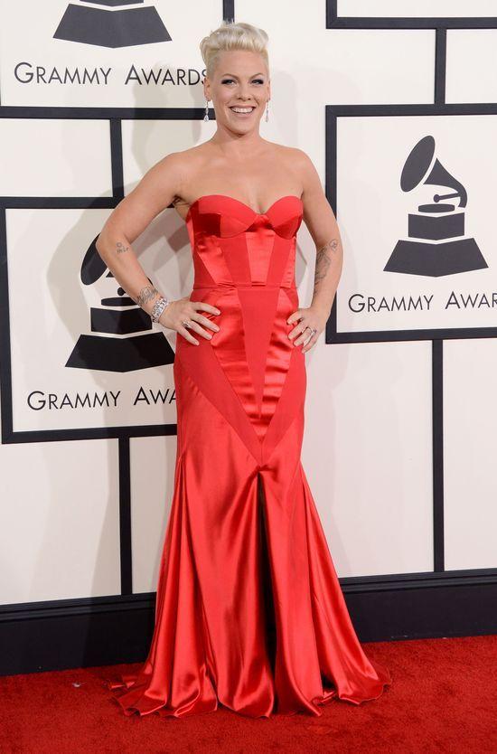 Kreacje gwiazd na gali Grammy 2014 (FOTO)