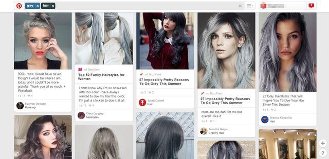 Dziewczyny oszalały na punkcie... siwych włosów! (FOTO)
