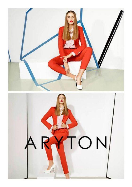 Asia Piwka w najnowszej kampanii marki Aryton (FOTO)