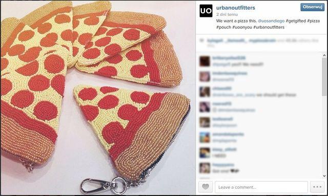 Kto chce torebkę w kształcie pizzy? (FOTO)