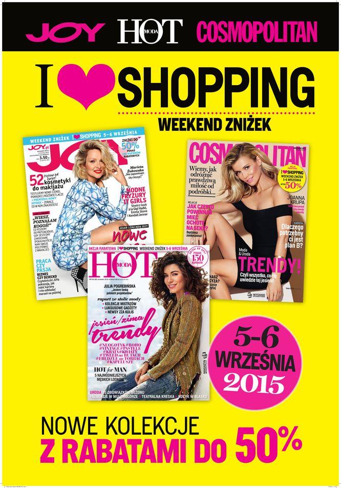 I Love Shopping, czyli rusza weeken wielkich zniżek