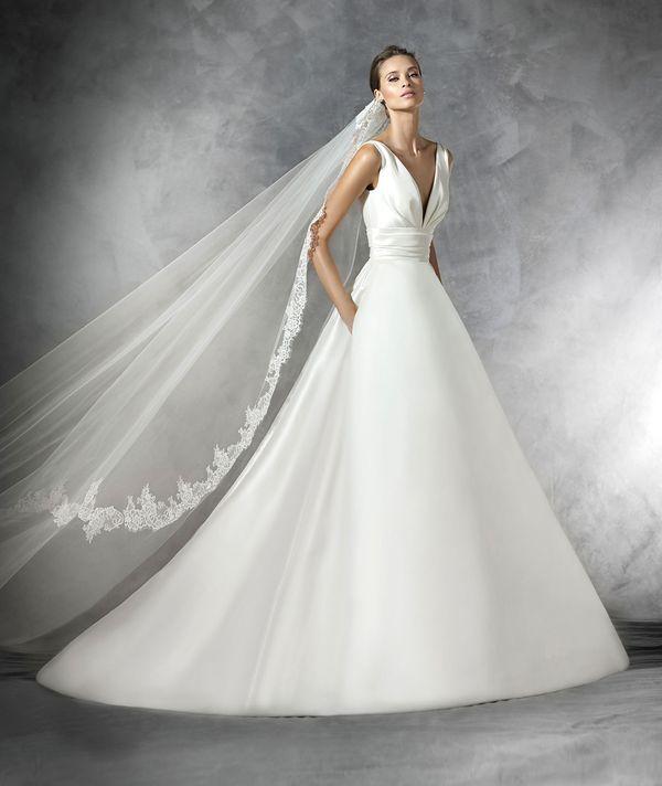 Czarujące suknie ślubne od Pronovias na 2016 rok (FOTO)