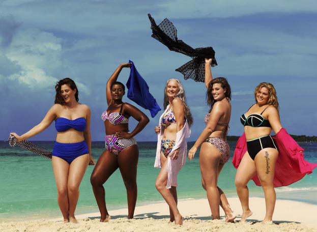 Modelki plus size w kampanii przeciwko przerwie między udami (FOTO)