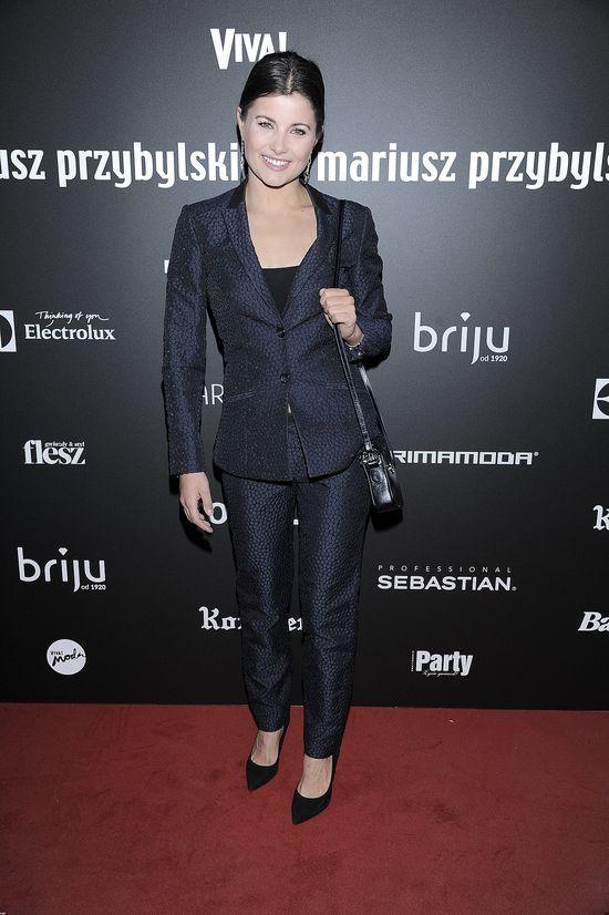 Gwiazdy i celebrytki na pokazie Mariusza Przybylskiego