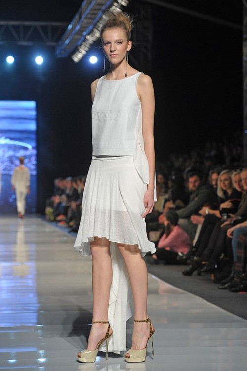 Natalia Jaroszewska na Fashion Week Poland