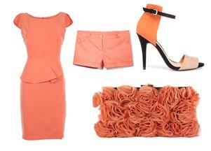 pomarańczowe ubrania